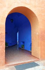the monastery san sebastian arequipa