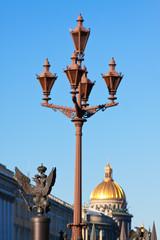Views of Saint Petersburg. Details of fence
