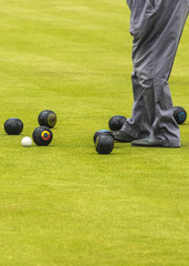 Game Of Bowls With Copy Space
