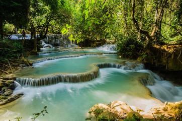 Kuang si waterfall, Tad Kwangsi
