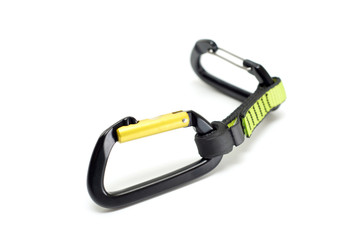Quickdraw with two straight gate carabiners