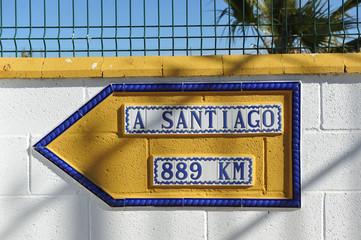 Camino de Santiago, mucha distancia