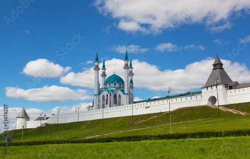 View of the Kazan Kremlin, Russia