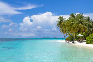 Scenery of Resort Island,Maldives