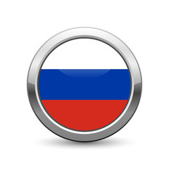 Russian flag icon web button