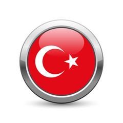 Turkish flag icon web button