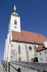 St. Martins cathedral in Bratislava, Slovakia