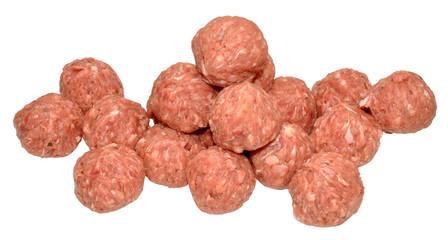 Raw Pork Meatballs