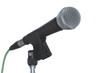 Leinwandbild Motiv Gesangsmikrofon