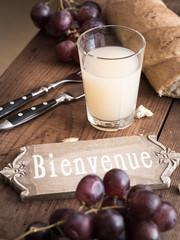 Willkommen - Bienvenue in Frankreich