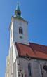Cathedral of St. Martin (1452). Bratislava, Slovakia