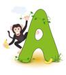 Alphabet, A Affe