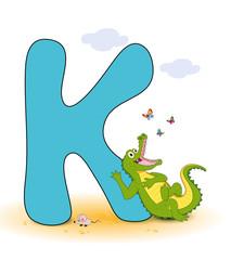 Alphabet, K Krokodil