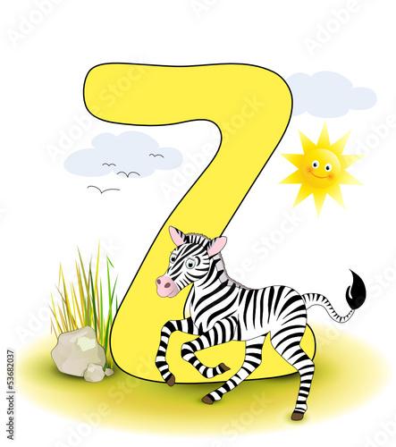 Alphabet, Z Zebra