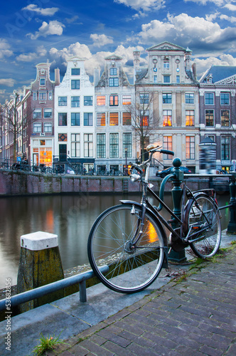 Leinwandbild Motiv Amsterdam