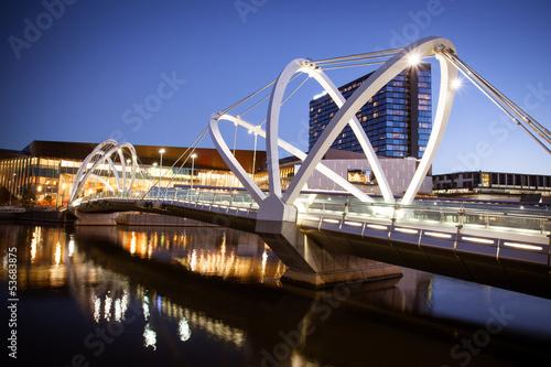 Poster Oceanië Seafarers Bridge in Melbourne