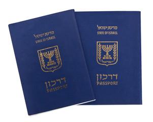Isolated Israeli Passports