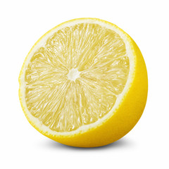 Half of lemon