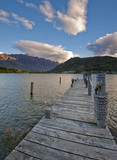 Pier at Lake Wakatipu, Queenstown