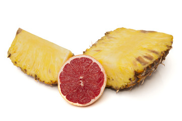 grapefruit with pineapple