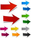 Fototapety Paper arrows.