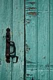 Fototapety vieille porte bleue