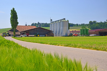 moderner Bauernbetrieb