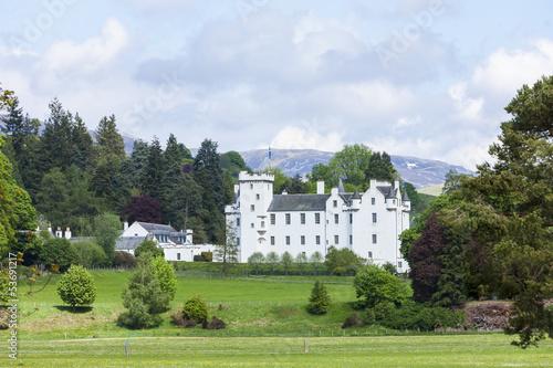 Leinwandbild Motiv Blair Castle, Perthshire, Scotland