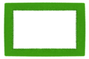 Gras Rahmen