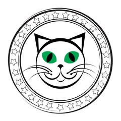 cat stamp