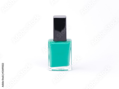 Nail polish isolated on a white backgrounds