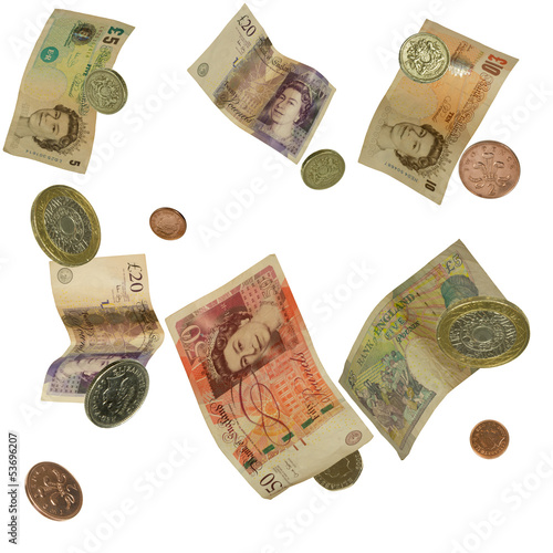 uk falling currency