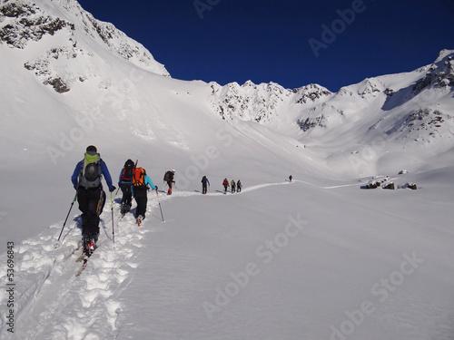 Ski de randonnée dans le Tyrol
