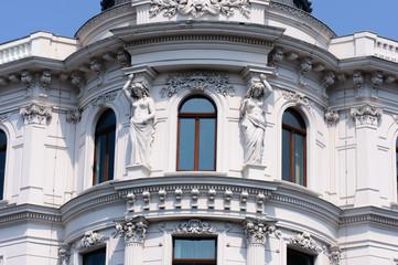 stilvolle Fassade