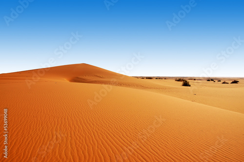 Fotobehang Woestijn Dunes in Saudi Arabia