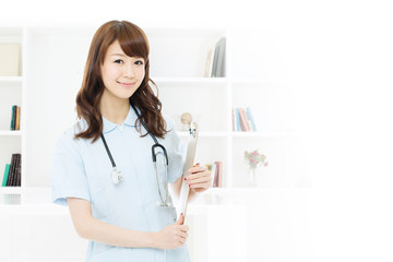 Beautiful young nurse