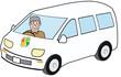 高齢運転者のドライブ