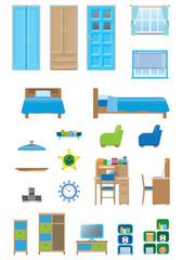 Boy's room / furniture
