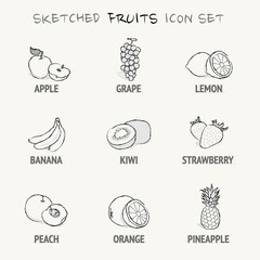 sketched_fruits_icon_set [Converted]