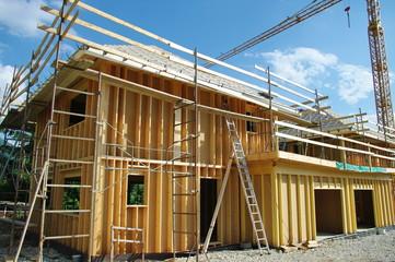 construction en ossature bois