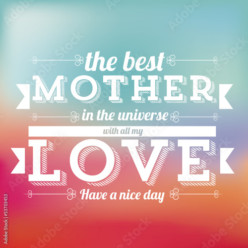 the mother day