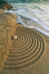Landart Zen, Wellen der Vergänglichkeit