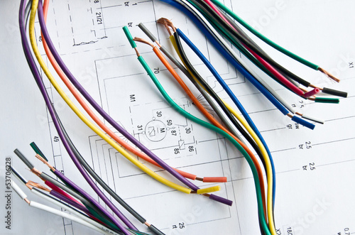 wires circuitry - 53706228