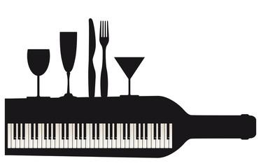 Party mit Klavier