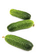green cucumbers.
