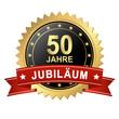 Button mit Banner - Jubiläum 50 Jahre