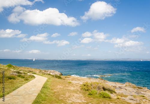 Sardegna, veduta della costa di Carloforte