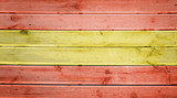 Wood texture background with colors of the flag of Spain