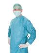 Portrait Of Mature Male Surgeon