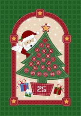Papai Noel - Árvore de Natal
